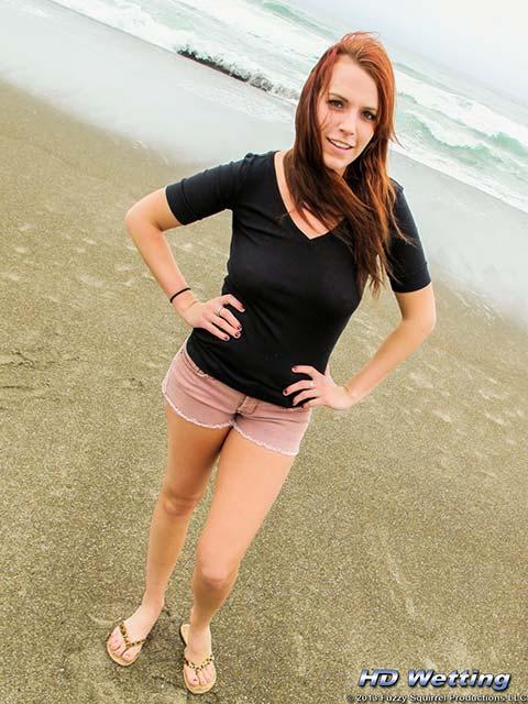 Alisha Peeing In Shorts