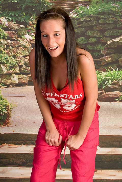 Emily Pierce Pissing In Her Panties